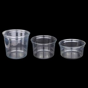Disposable Plastic Container with Lids for Food Packaging pictures & photos