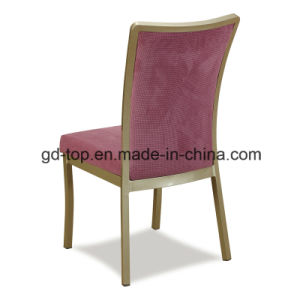 Wood-Looking Restaurant Banquet Dining Chair pictures & photos