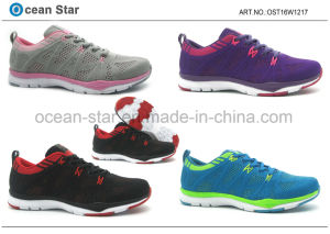 High Quality New Flyknit Sports Lady Shoes pictures & photos