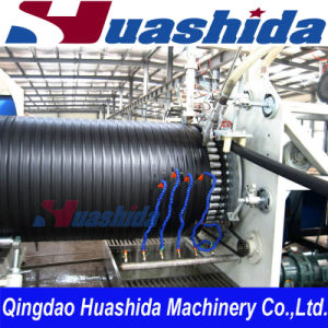 Plastic PE Spiral Sewer Pipe Production Line pictures & photos