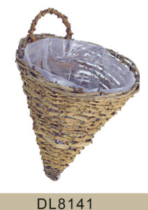 Wall Rattan Hanging Flower Planter pictures & photos