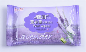 Hot Sell Skin Cleaning Wet Wipes Nonwoen 10 PCS pictures & photos