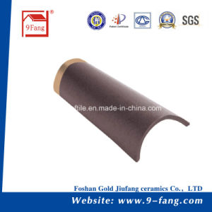 Chinese Villa Interlocking Roof Tiles Ceramic Roofing Tile Building Material pictures & photos