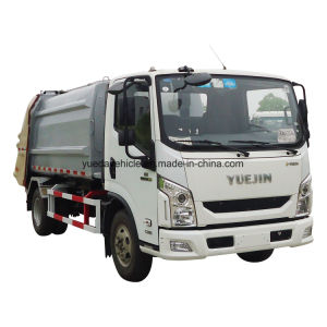 4*2 Left Drive Garbage Truck pictures & photos