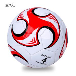 Cheep Promotional Size Rubber Football/Soccer Ball pictures & photos