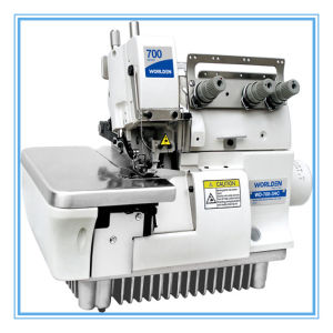Wd-700-3hc Three Thread Overlock for Handkerchief pictures & photos