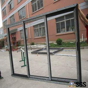 3 Track Aluminium Frame Sliding Door, Window, Aluminium Window, Aluminum Window, Glass Door K01186 pictures & photos