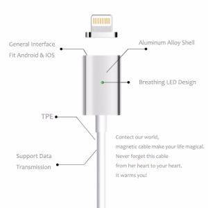 3 In1 Magnetic USB Charging Data Cable for iPhone/Android/Type C Devices pictures & photos