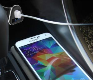 Private Mode 4.8A Car Charger with Output Current Display pictures & photos