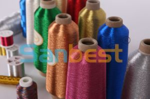 Metallic Embroidery Thread pictures & photos