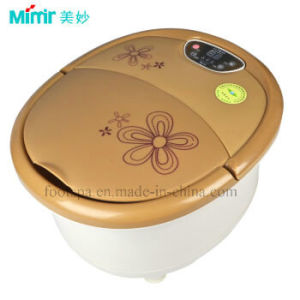 Mimir Electrical Bubble Foot Bath Massager for Good Health pictures & photos