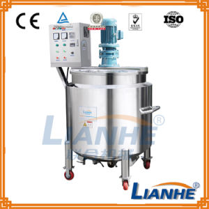 500L Laundry Liquid Soap Mixing Machine with Homogenizer pictures & photos
