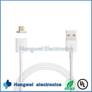 High Speed 8 Pin PVC Sync Charger Micro Magnetic USB Cable for Samsung pictures & photos