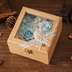 Wooden Preserved Flower Gift for Home Decoration pictures & photos