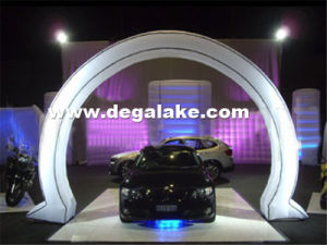 Potable Inflatable LED Lighting Arch for Advertising