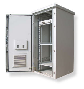 Outdoor Telecom Cold-Rolled/Stainless Steel Network Cabinet pictures & photos