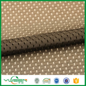Polyester Stretch Knit 270 GSM Mesh Football Jersey Fabric pictures & photos