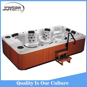 New Factory Price of Deluxe Whirlpool Massage Bathtub with Air Jets pictures & photos