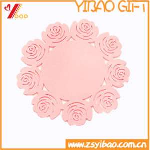 Non-Slip Custom Colorful High Quality Silicone Cup Mat (XY-HR-62) pictures & photos