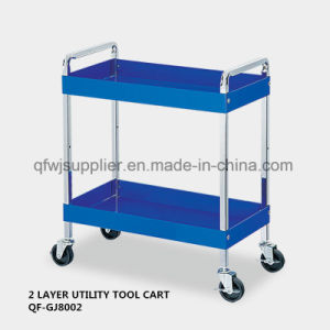2 Layer Utility Tool Cart pictures & photos