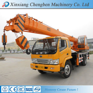 Reliable Truck Chassis Folding Boom Mobile Crane Used for Sale pictures & photos