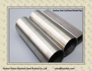 Round Polished 201 Grade Stainless Steel Hollow Pipe pictures & photos