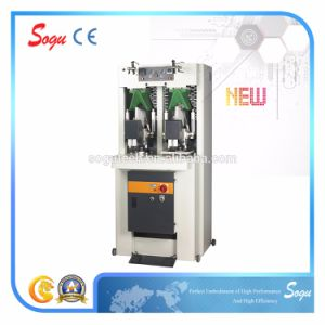 Double Knife Shoe Vamp Forming Moulding Machine pictures & photos