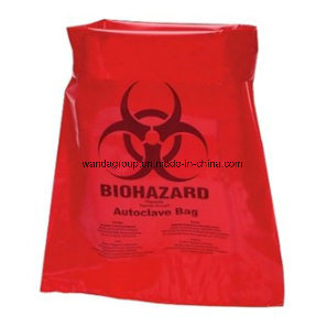 Biodegradable Plastic Biohazard Garbage Bag for Medical Waste pictures & photos