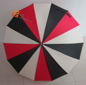 "21.5""*14k Straight Umbrella, Black Meatl Frame (YSS0002)"