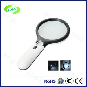 45X /3X Handheld Magnifier Lamp with LED Light for Reading pictures & photos
