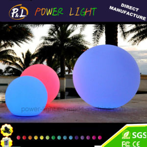 D50cm Modern Color-Changing Outdoor Display LED Pool Ball pictures & photos