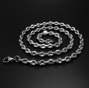 4.5mm Lobster Chain Titanium Steel Fashion Jewelry Unisex Necklace pictures & photos