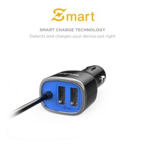 34W Car Charger with Micro USB Cable pictures & photos