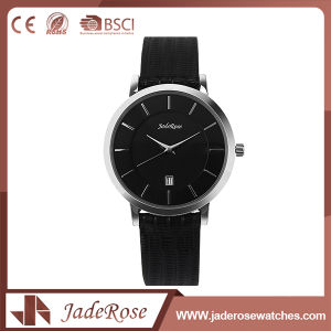 Black Vintage Leather Watch for Unisex pictures & photos