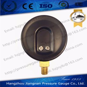 70mm Black Dial General Pressure Gauge for Compression Tester pictures & photos