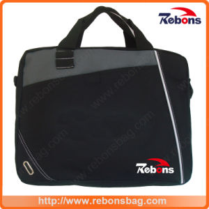 Promotion Polyester Laptop Messenger Shoulder Computer Document Notebook Bag Business Computer Bags Tablet Laptop Bags for Travel pictures & photos