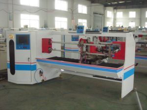 Double Sides Tape Roll Slitter/Auto Cloth Tape Slitter Machine pictures & photos