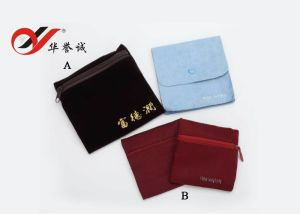 Jewelry Pouch with Zipper pictures & photos