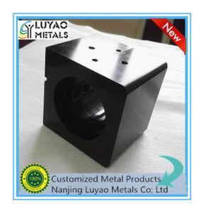 Custom Made Aluminum Black Anodized Precision CNC Large Piece Machining pictures & photos