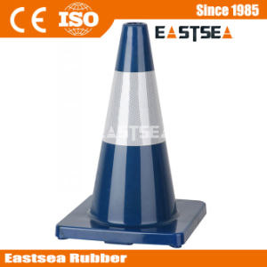 Different Size Traffic Road Safety Blue PVC Cone pictures & photos