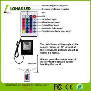 Flood Lights 110-240V IP65 10W-100W RGB LED Flood Light Bulb pictures & photos