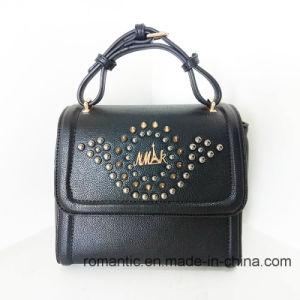 Fashion Promotional Lady Handbags with Rivets (NMDK-050603)