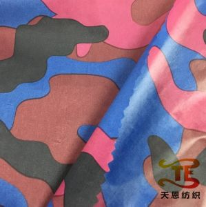 380t Ultra Thin Camouflage Printing Nylon Taffeta Fabric for Down Jacket pictures & photos