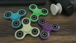 Glow in Dark Fidget Hand Spinner pictures & photos