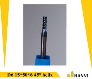 Cutoutil   D6 15*50*6 for Steel Hardmetal Matching Standard Solid Carbide End Mills Tools  pictures & photos