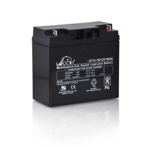 Lp12-18 12V Lead Acid Rechargeable Battery for Emergency Light pictures & photos