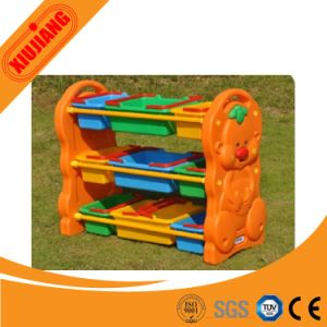High Quality Plastic Children Toy Shelf pictures & photos