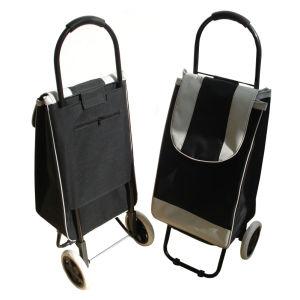 2 Wheeled Funky Easy Storage Folding Supermarket Shopping Luggage Bag pictures & photos