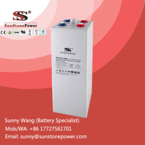 2 Volt 1000ah Deep Cycle Gel Solar Batteries Rechargeable Lead Acid Battery pictures & photos