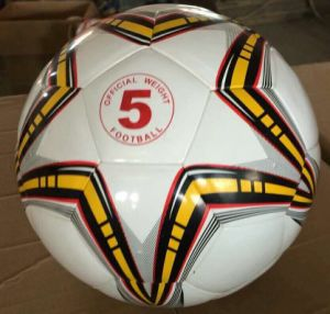 5# PVC PU Iaminatde Soccer Ball pictures & photos